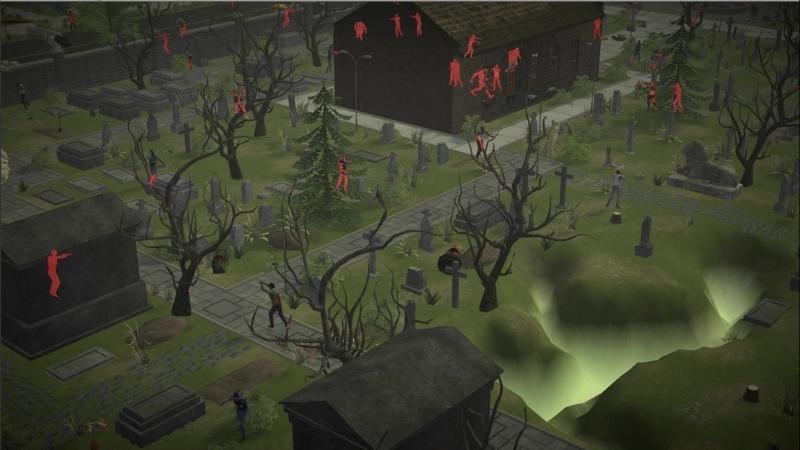 Чумное кладбище, PVP локация для продвинутых игроков.
