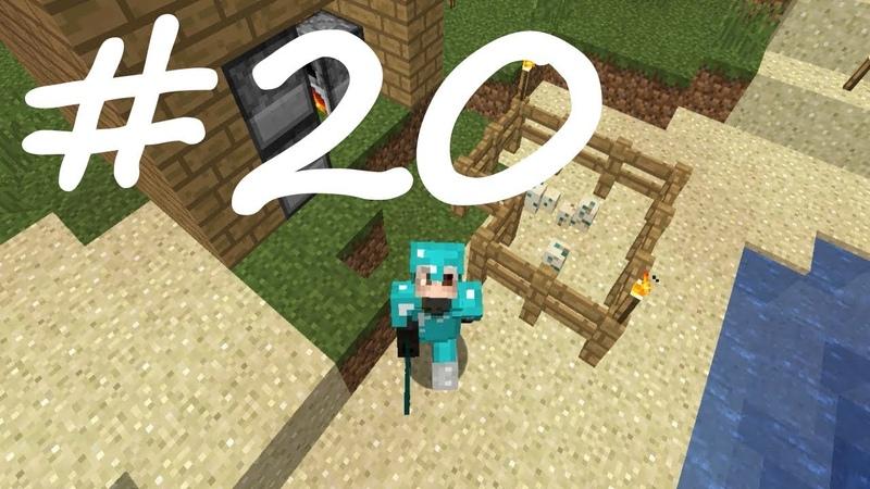 Minecraft: Выживание 20 - Первый полноценный поход в Ад