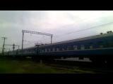 Чс2 с поездом № 342 Симферополь-Луганск. Прибытие на станцию Джанкой