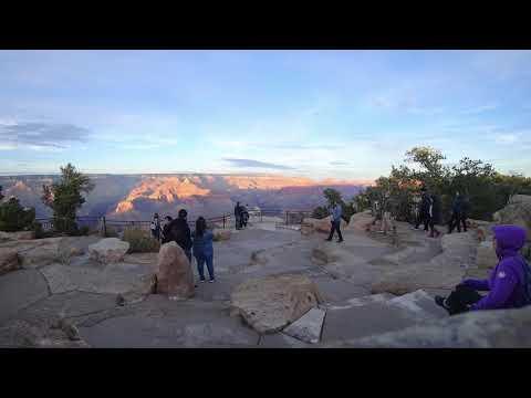 The Grand Canyon's Sunset (TimeLaps) 4k   MotherPoint, USA, AZ, 2018