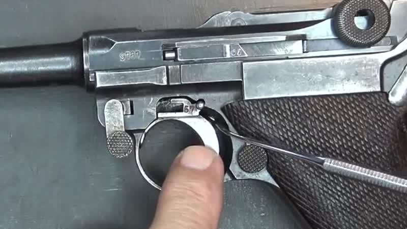 Histoire du Luger P08 9 mm Parabellum 1918