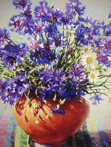 Цветы в живописи.