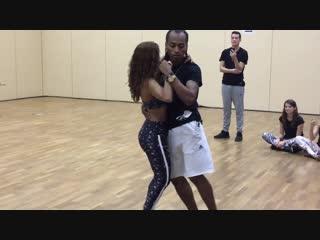 Morenasso & Adi Baran dancing Kizomba at 14th El Sol Salsa Festival (Warsaw)