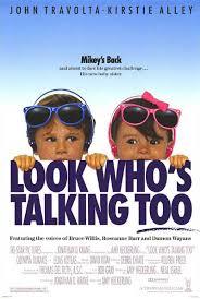 Titta hon snackar också! (1990)