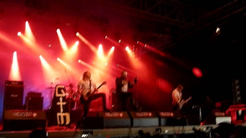 Gothminister - Someone is After Me Stonehenge LIVE @ Summer Breeze 2014