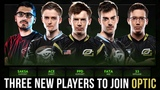 Three New Players to Join Optic - Final Roster Gameplay Compilation - Dota 2