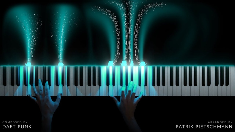 TRON Legacy Main Theme Piano Version