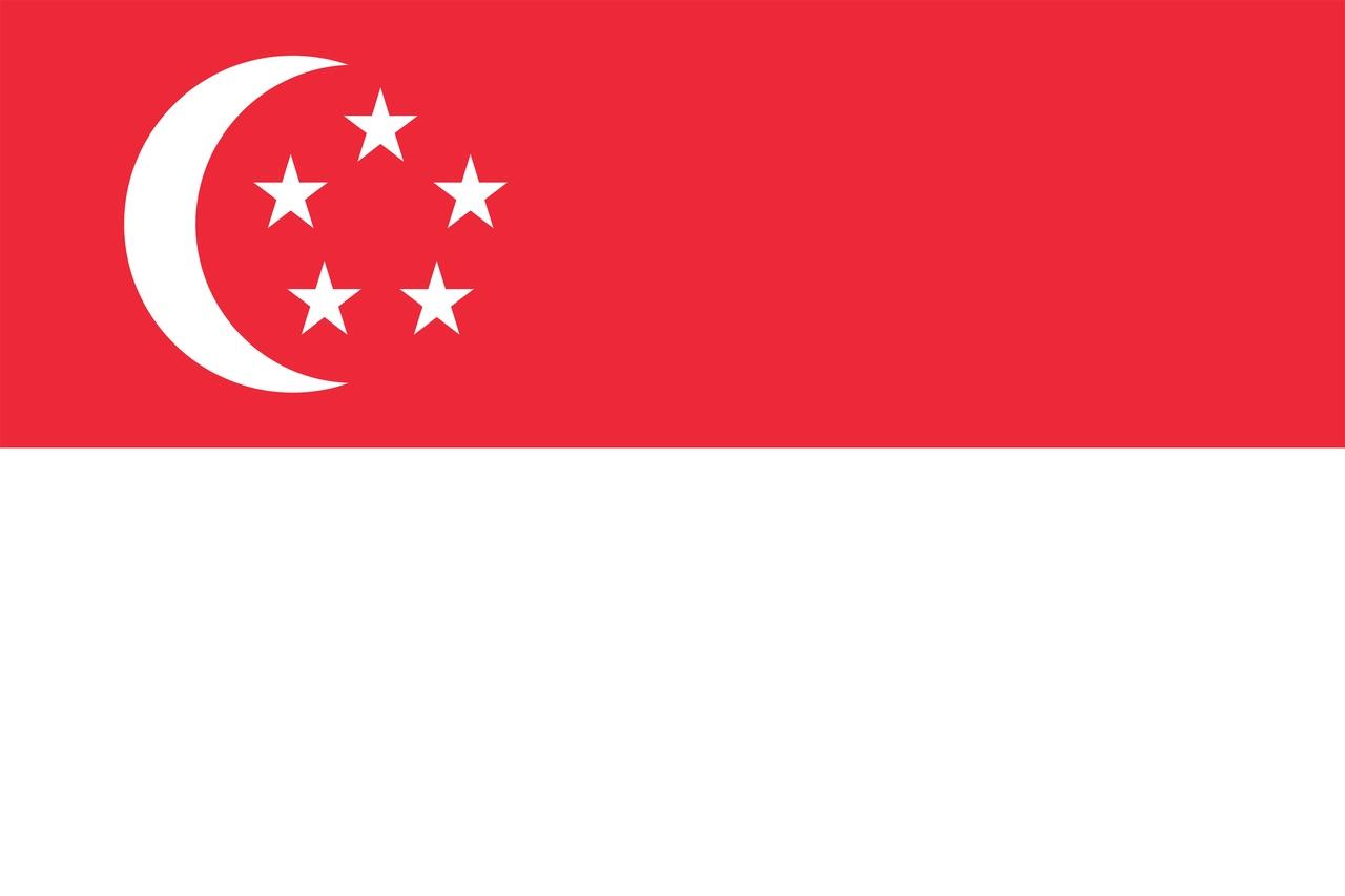 Флаг Сингапур