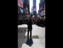 Jet Li in Times Square