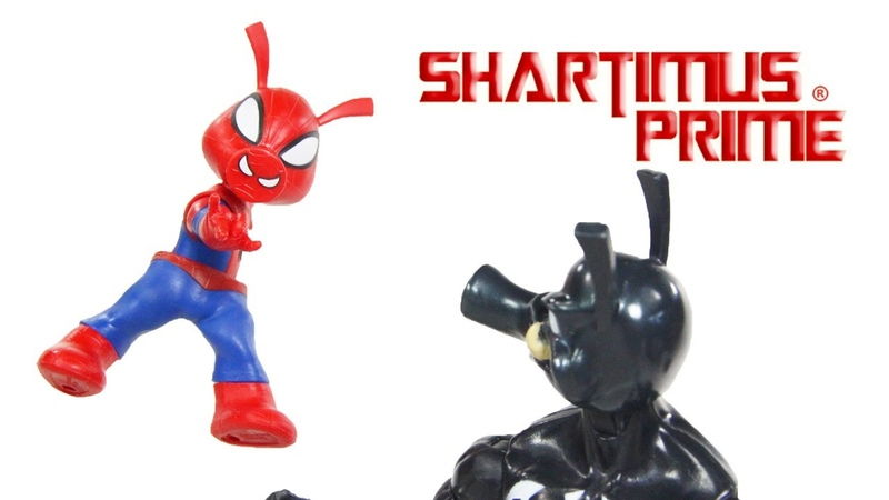 Marvel Legends Spider-Ham and Pork Grind Monster Venom BAF Wave Marvel Hasbro Figure Toy Review