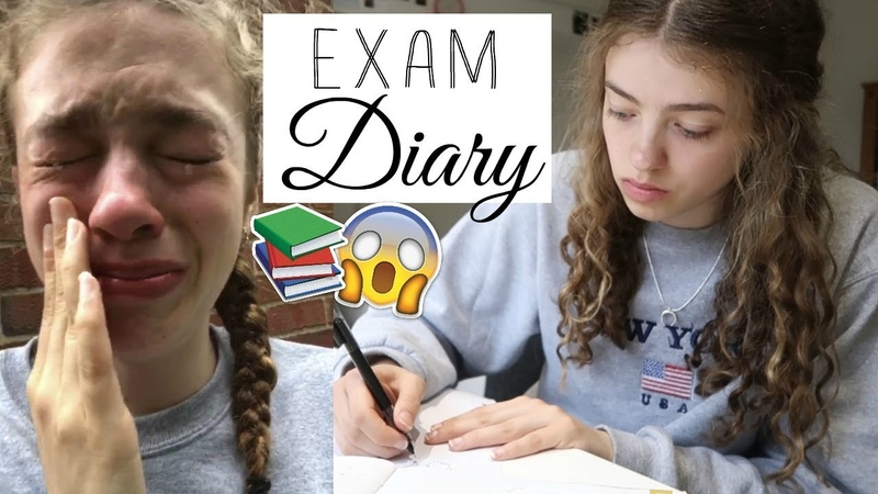 My Exam Diary 2018!! (an emotional rollercoaster) 🙈