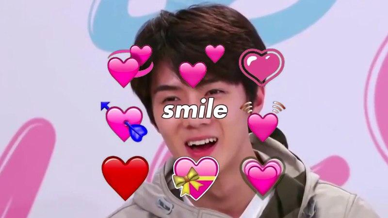 You so precious when you smile | SEHUN