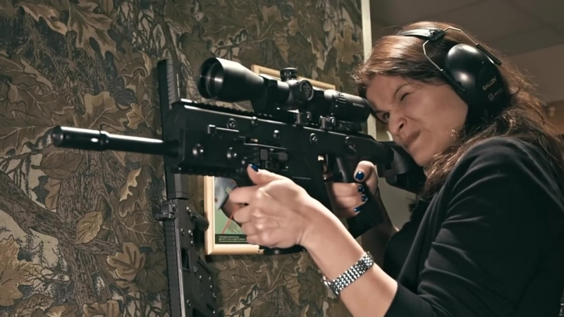 Kriss Vector_ карабин без отдачи (with Eng subs)