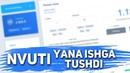 NVUTI SAYTI YANA ISHGA TUSHDI / 5 DAQIQA ICHIDA 200 RUBL
