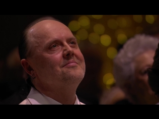 Lars Ulrich and Robert Trujillo from Metallica receive the Polar Music Prize