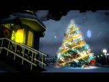 📧Красивая Новогодняя открытка с Новым годом! 🎄Анимированный футаж фон для видео монтажа 15