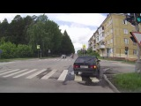 Женщины и ПДД. Очередной дорожный шедевр. Снежинск 2 июля 2017 (16+)