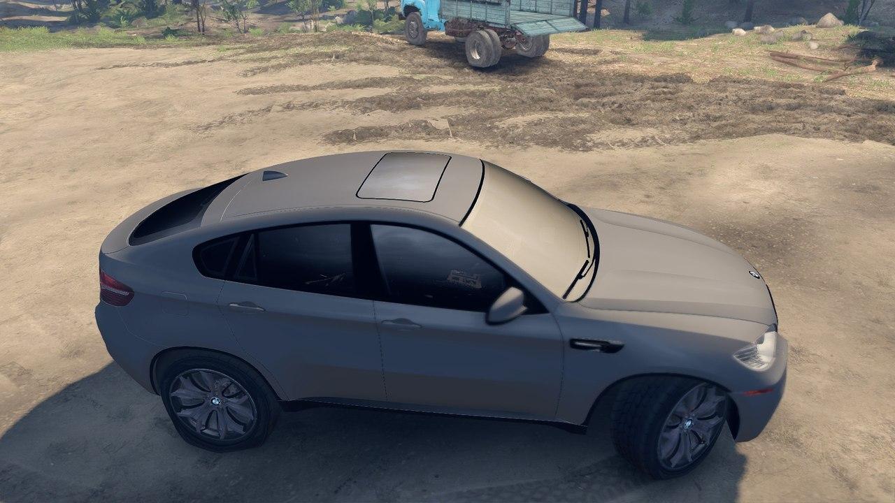 BMW X6M v.2.0 для Spintires - Скриншот 3