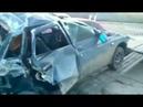 Эксклюзивное видео после ДТП в Мелитополе
