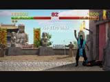 Mortal Kombat HD Remix Prototype version Gameplay (Unity)