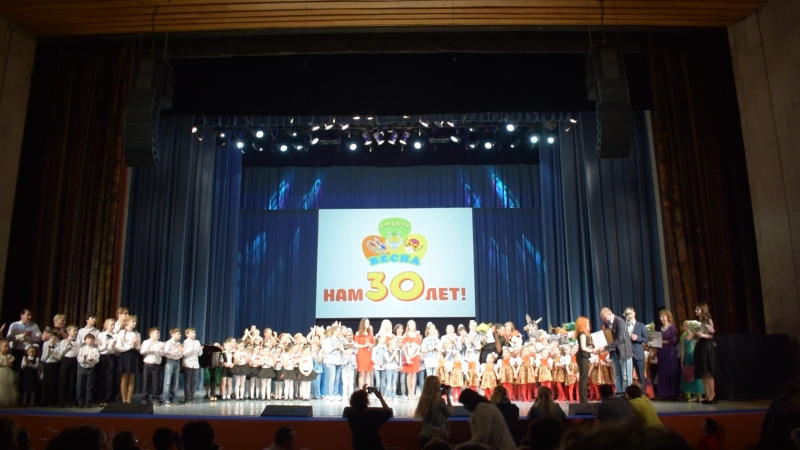 Завершение концерта, посвящённого 30 - летию СЭВ ВЕСНА, награждение DSC_1273