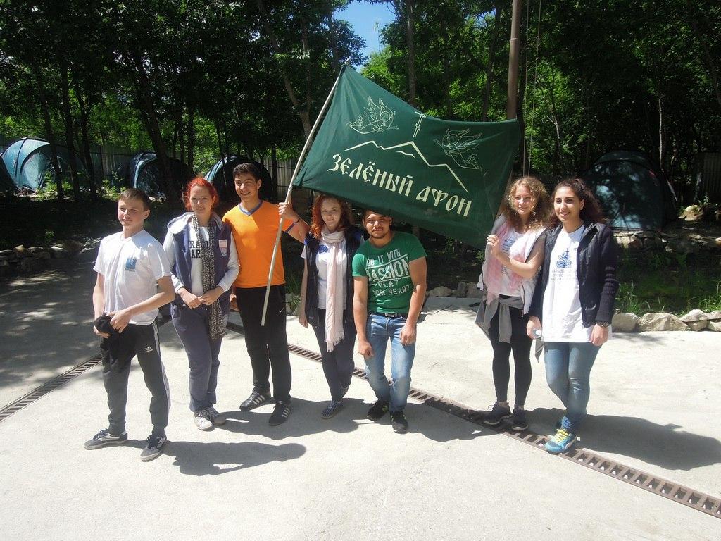 Жители Зеленчукского района приняли участие в работе молодежного форума «Зеленый Афон»