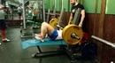 """Денис Акимов on Instagram: """"А вот и проходка 🤘 На штанге 145 кг, вес «хомячка» 81 кг. На раз без паузы, уже неплохо 🦍 командаakunamatata пауэрлиф"""