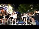 2018 07 07💎EP187💎 2 FAKE LOVE 공개 신곡 어젯밤 커버 공개 춤추는곰돌 AF STARZ HONGDAE BUSKING