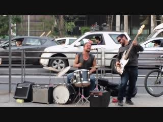 Street artists Highway star (Deep Purple cover)