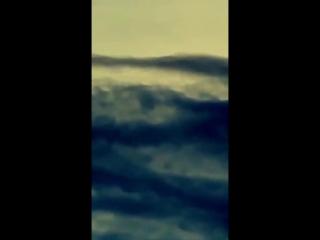 В Великобритании на видео попал загадочный НЛО.