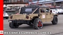 Reconfigurable Wheel Track Extreme Travel Suspension By DARPA