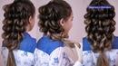Очень воздушная коса ОЧЕНЬ ПРОЧНАЯ Объёмная причёска Hair tutorial