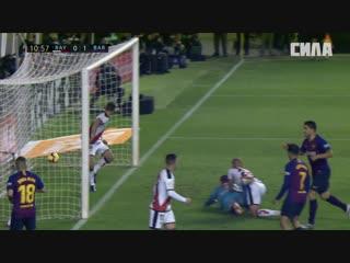 «Райо Вальекано» - «Барселона». Обзор матча