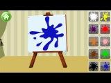 Учим цвета - развивающий мультик для детей от 1 года.