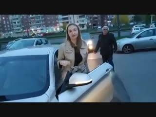 Бeшeнaя яжeмамка на BMW