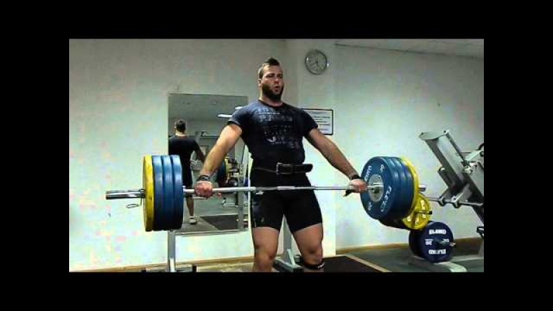 Mesud Pezer Hip hang snatch 170kg