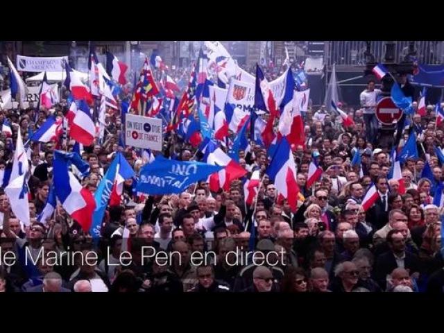 UDT du FNJ en direct de Fréjus avec Julien Rochedy et Marine Le Pen