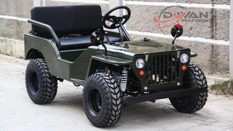 For sale.. ATV Jeep Willys Brand NEW/ BARU, SOUND TEST (istimewa)