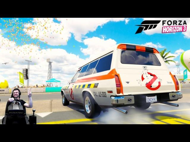 Holden Охотники за привидениями эдишен отжигает Forza Horizon 3 на руле Fanatec CSL Elite Wheel
