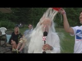 Police, athletes, WCVB reporter take part in Ice Bucket Challenge