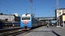 Электровоз ЭП1М-455 с поездом №144 Москва — Кисловодск