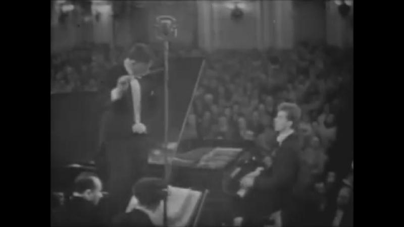 Сергей Рахманинов. Концерт №3 для ф-но с оркестром (Ван Клиберн (фортепиано), дирижёр - Кирилл Кондрашин)