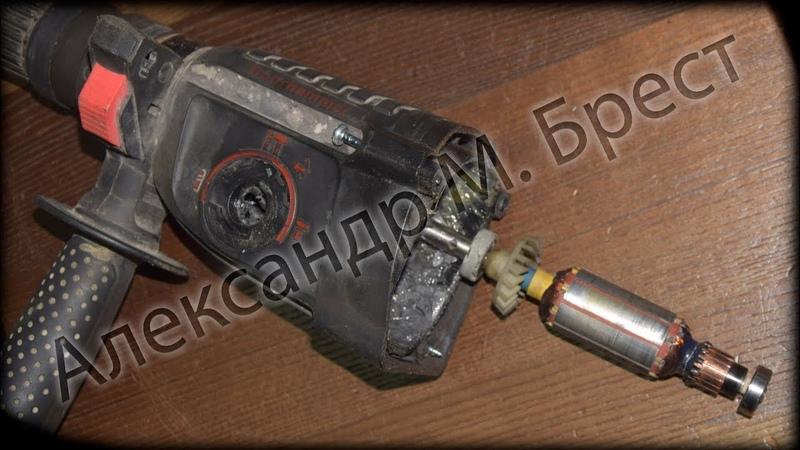 МВ (98) Механика в дребезги! / Почти все ламели в обрыве / 2-е фазы вместо 220 вольт