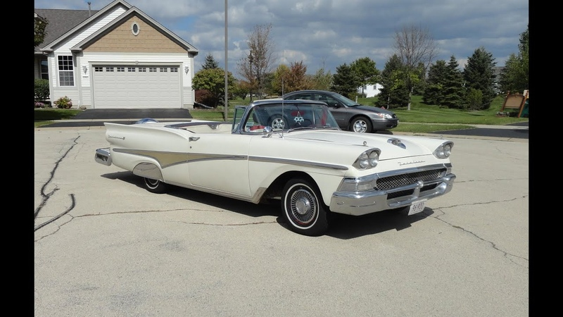 1958 Ford Fairlane 500 Skyliner with Retractable Top Opening My Car Story with Lou Costabile