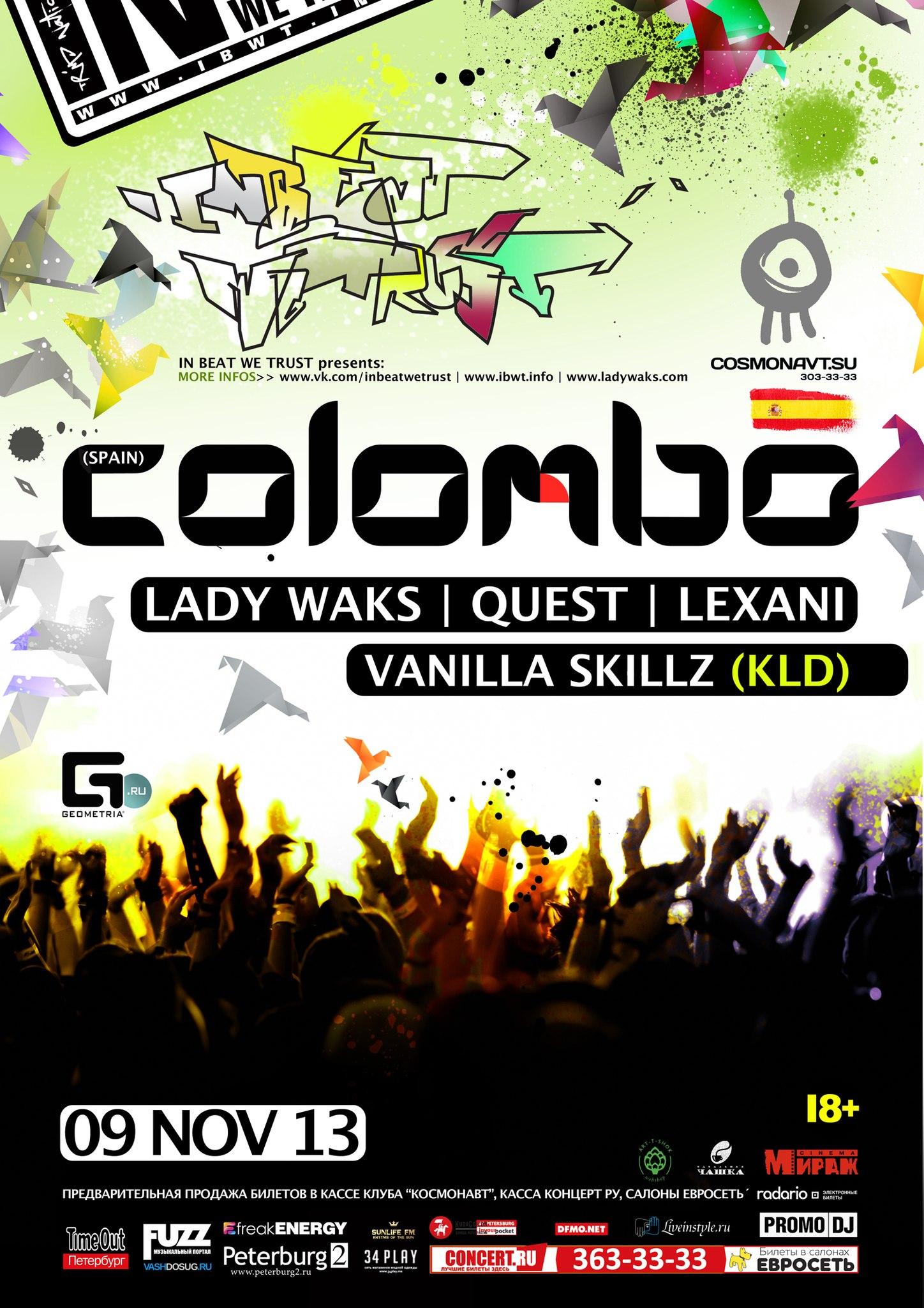 DJ COLOMBO /Spain/