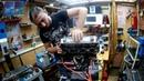 Кап Ремонт ДВС CB400 Ч9 Установка Головки Блока Цилиндров на Цилиндро Поршневую Группу