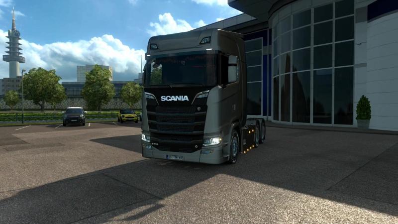 Scania S-730 - Новенькая Скания в ETS2