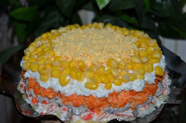 Вкусные салаты на новый год пошагово