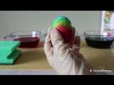 Как покрасить яйца в разные цвета