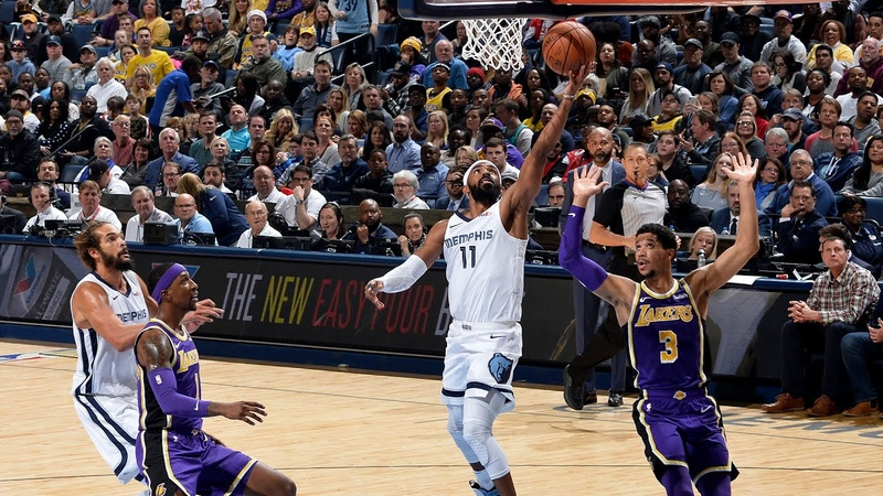 Memphis Grizzlies vs Los Angeles Lakers Full Team Highlights | December 8, 2018 | NBA Season 2018-19
